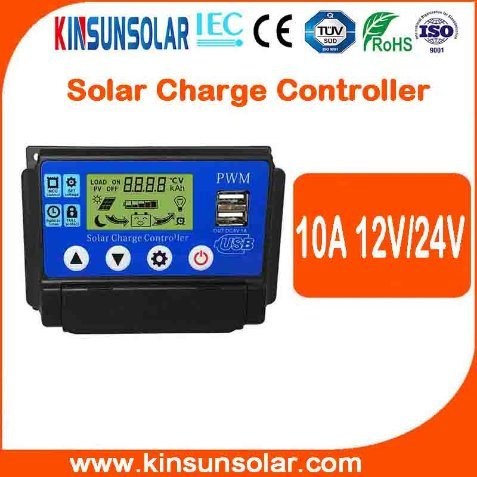 Factory Sell Directly PWM 10A Solar Charge Controller pictures & photos