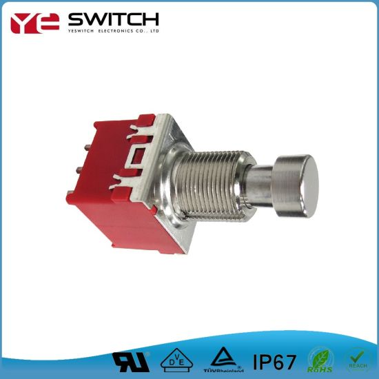 Durable Push Button Foot Switch with RoHS&Reach