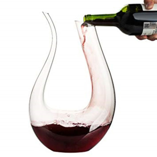 1500ml Swan Lead Free Crystal Glass Wine Decanter pictures & photos
