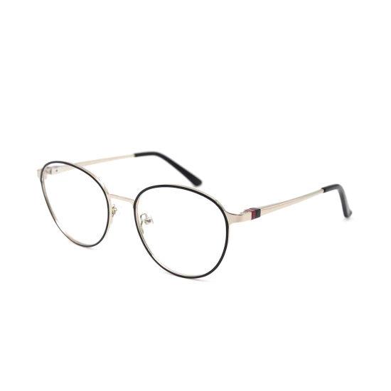 Wenzhou Higo Latest Design Fashion Vintage Round Stainless Steel Optical Frame with Ce&FDA Certification