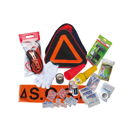 Warning Triangle Auto Repair Wholesale Car Road Safety Emergency Tool Kit