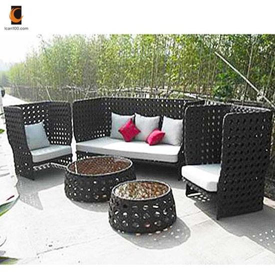 China Anti Aging Broyhill Outdoor Rattan French Style Furniture Set