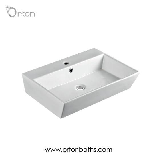 Ceramic Wash Basin From Bathroom Sink