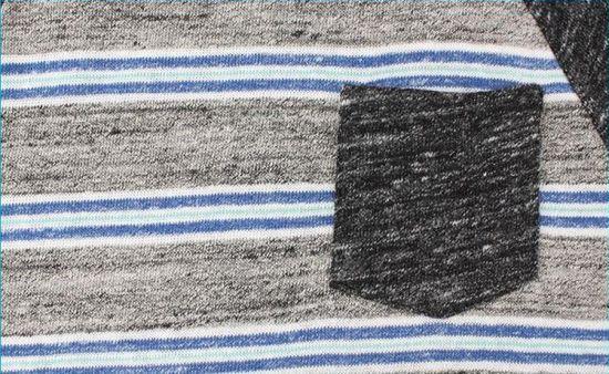 China Children Knitted Stripe Sweatshirts Kids Raglan Sleeve