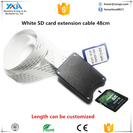 25inch SD SDHC SDXC Card Extend Extension Cable Connect Extender Linker TV GPS U
