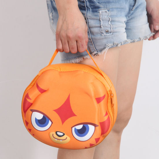 Cute Lovely Cartoon Children Lunch Shoulder Bag for School Outdoor Carrying Box