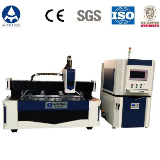High Precision Fiber Laser Cutting and Engraving Machine for Metal Processing