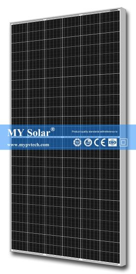 My Solar Mono Solar Panel 144cells Half Cell 395W Perc Solar Module pictures & photos