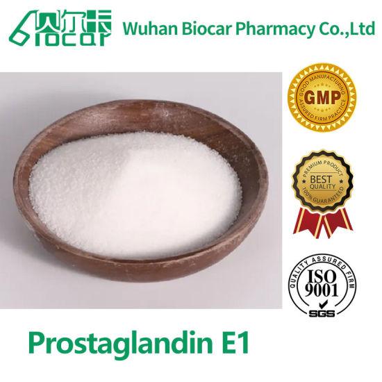 Hot Sale 99% 100mg 1g Prostaglandin E1 Pge 1 Alprostadil Powder CAS 745-65-3