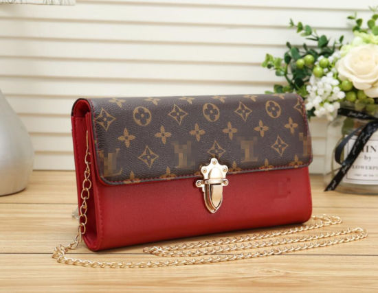 Genuine Leather High Quality Lady Designer Purse pictures & photos