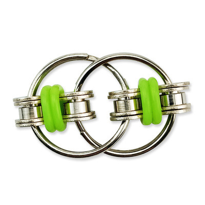 Hand Spinner Tri-Spinner Reduce Stress EDC Fidget Toy for Autism Adhd Key Ring Fidget Toy Fingertip Flippy Decompression Chain