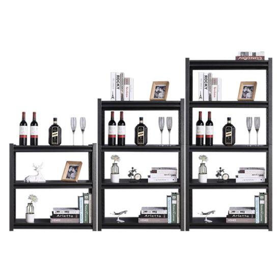 Steel Slotted Angle Storage Light Duty Rack Metal Shelves