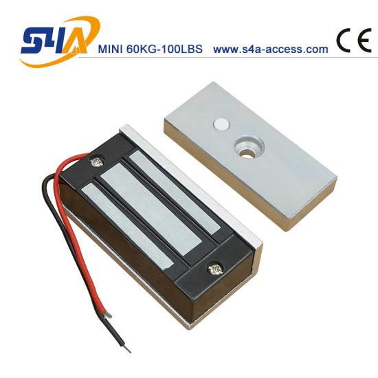12V 60kg Mini Electromagnetic Lock for Magnetic Cabinet Locks