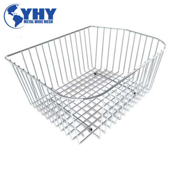 Rectangle Stainless Steel Wire Mesh Baskets for Storage