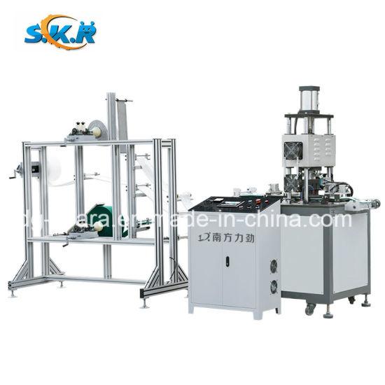Automatic Ultrasonic Washing Cloth Punching and Cutting Machine