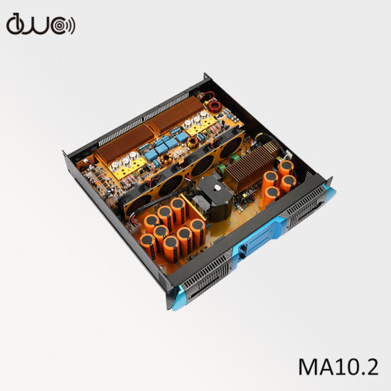 2X10000W 8ohm Switching Power Supply PRO Audio Power Amplifier