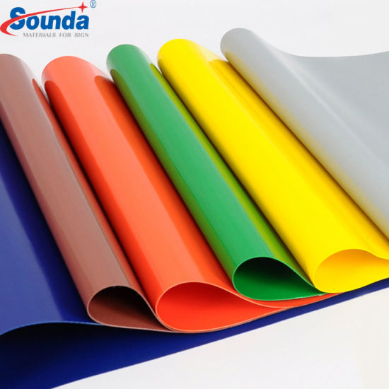 Free Sample for PVC Tarpaulin 1000*1000d, Customized Weight