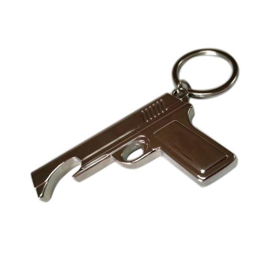 Wholesale Custom Pubg Gun Military Metal Key Chain for Promotional Gift