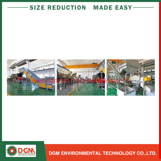 Competitive Price HDPE PP Plastic Film Jumbo Woven Bag Recycling Shredding Washing Line
