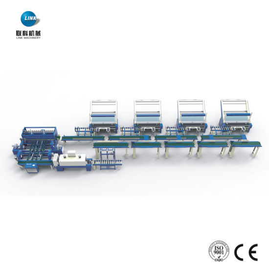 Textile Automatic Roll Fabric Packing Machine