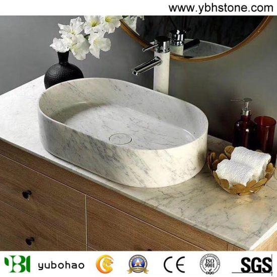 Natural Marble Stone Basin/Multicolor Wash Basins or Bathroom Vessel Bowls