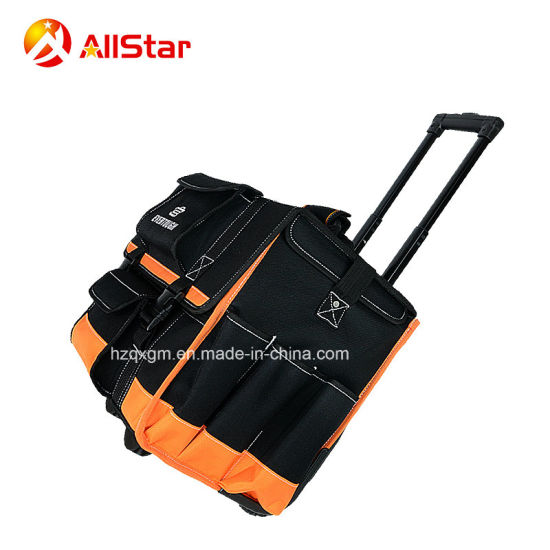 2018 New Design Oxford Fabric Tool Bag Trolley Rolling Bag