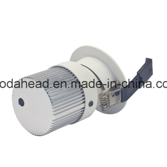 Die Casting Aluminum Alloy LED Body Die-Casting Aluminum for Downlight Housing Lamp Cover Casting pictures & photos