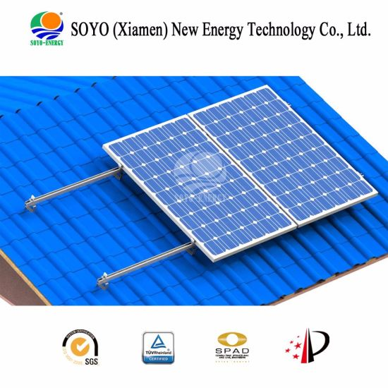 Soyo Energy Customized Porcelain Tile Aluminium Alloy Solar Bracket pictures & photos