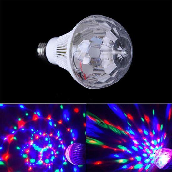 Vertical Striped Magic Ball LED Stage Light 3W 85-265V E27