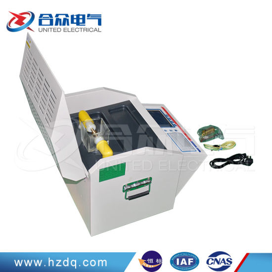 Transformer Oil Dielectric Strength Tester/Portable Oil Analyzer pictures & photos