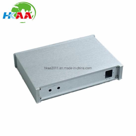 Custom Precision CNC Aluminium AMP Chassis Cabinet Case Enclosure Box