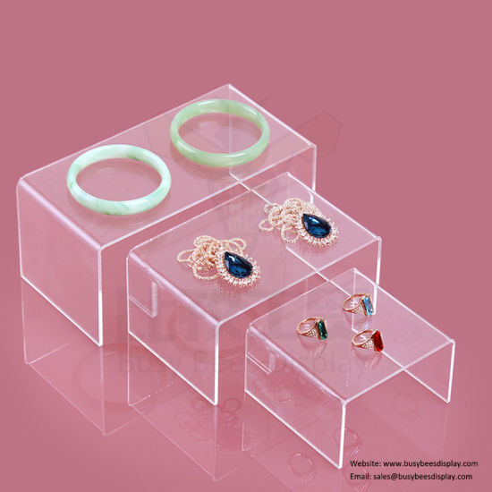 2019 Acrylic Jewelry Display Stand Countertop Royal Luxury Customized Design pictures & photos