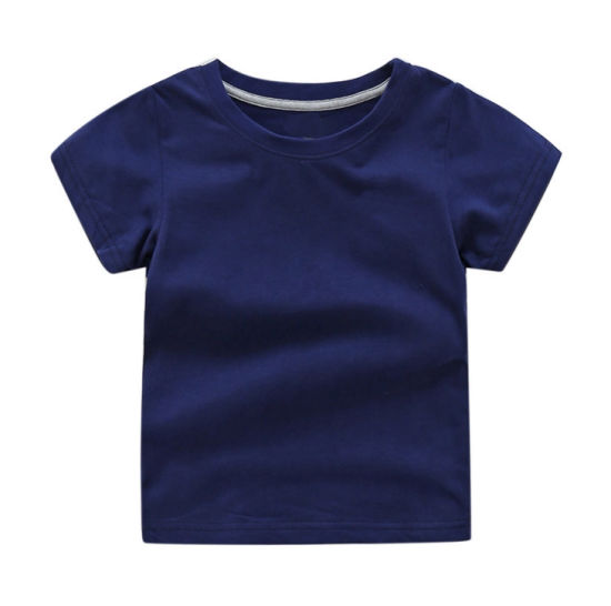 Organic Cotton Avaliable Baby Clothes Children Garment for Baby T-Shirt