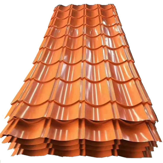 Color Coating Corrugated Roofing Sheet