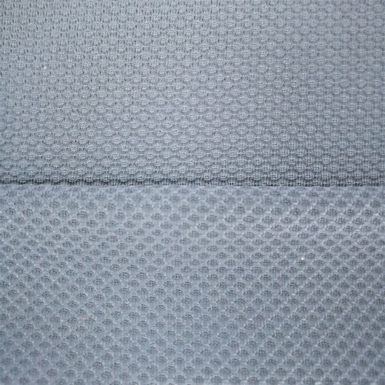 Sports Jacquard Nylon Spandex Blended Lattice Knitting Fabric