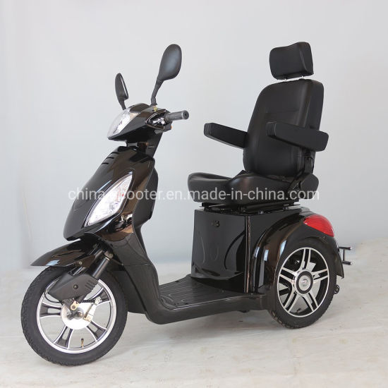500W/800W Electric Disabled Tricycle, 3 Wheels Electric Scooter for Safe Driving (TC-016) pictures & photos
