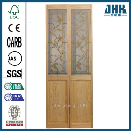 China 24 Inch Solid Core Door Bifold Doors Cost Concertina