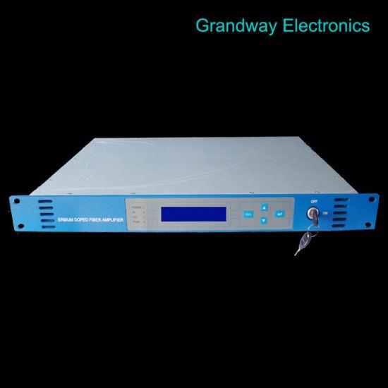 CATV 1550nm Optical Amplifier (EDFA) 17dB-60V