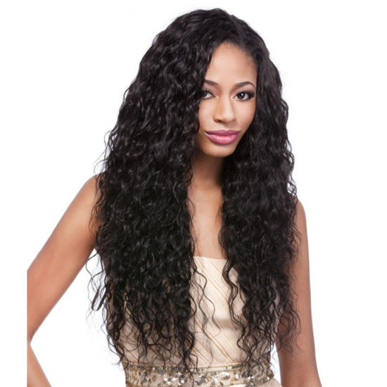 Wholesale Remy Human Hair Extension, 100 Thick End Real Brazilian Human Hair Deep Wave Hair