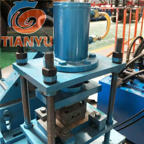 Tianyu High Speed Stud and Track Metal Omega Purlin Machine C U Frame Roll Forming Machine pictures & photos