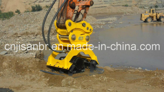 Hydraulic Pile Compactor and Road Compactor for Excavator pictures & photos
