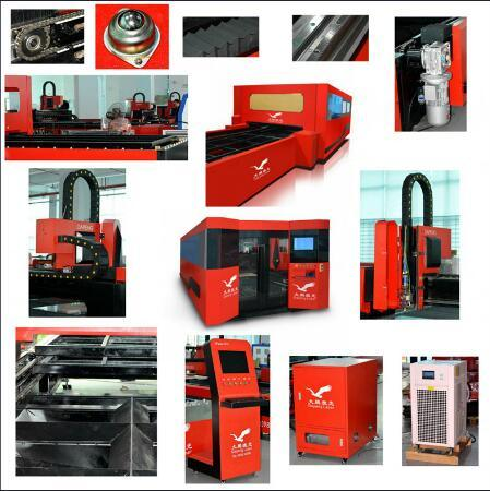 500watta Metal Sheet Fiber Laser Cutting Machine Factory Price pictures & photos