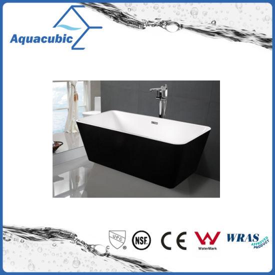 China Black Surround Square Free-Standing Acrylic Bathtub (AB1506B ...