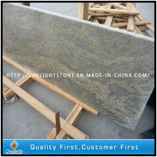 China Flamedpolished Kashmir White Granite Flooring Tiles For