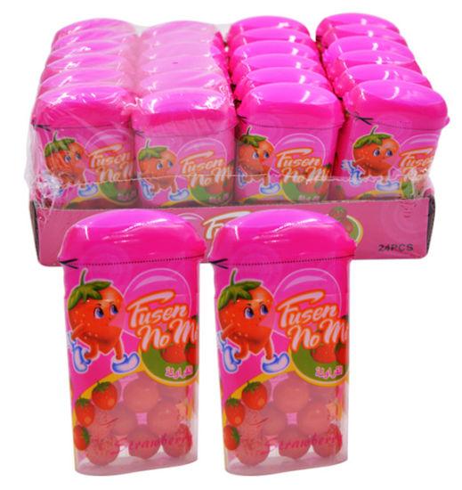 4 Fruit Flavors Ball Bubble Gum