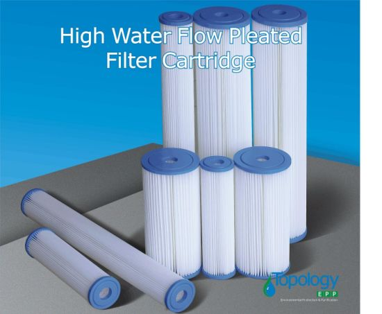 Pes Pleated Filter Cartridge with PP Core