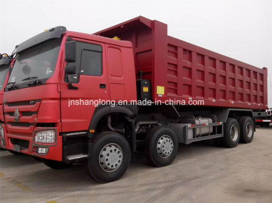 China Howo 8x4 12 Wheels 20 Cubic Meter Dump Truck 40ton China