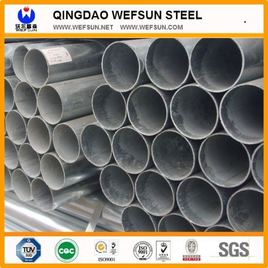 Pre-Galvanized Pipe Made From Galvanized Steel Strip pictures & photos