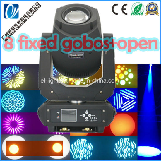 LED Disco Lighting 200W LED Christmas Moving Head Stage DJ Equipment Light for Dancing Hall