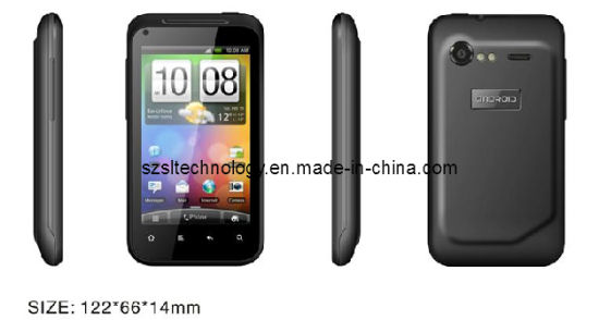 Android 2.3, Mtk6573 LED Flash Camera GPRS Smart Phone